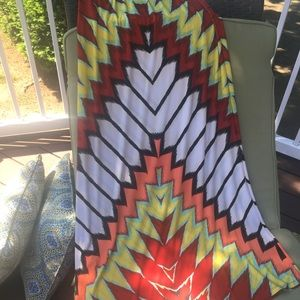 Multi Color Maxi Skirt by Eci